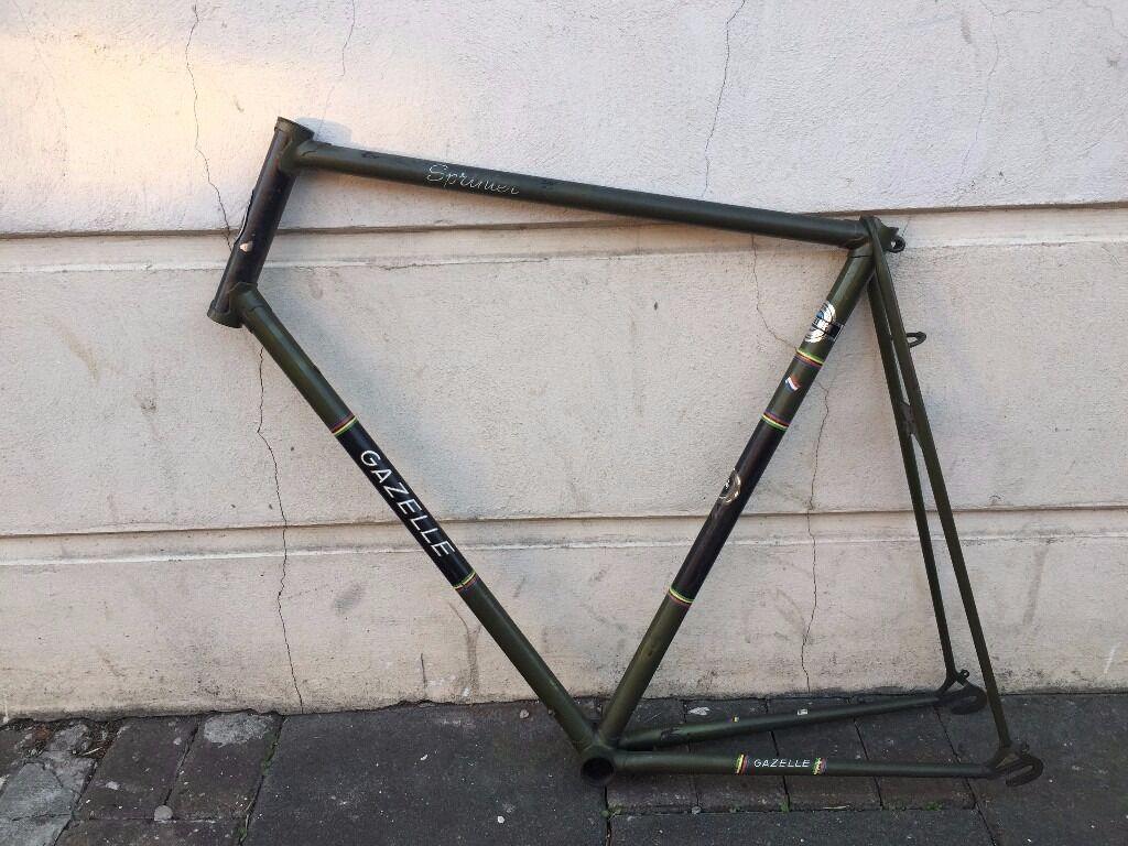 Gazelle Sprinter Steel Bike Frame | in Dalston, London | Gumtree