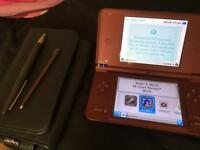 **QUICK SALE!!!DSI XL MAROON*