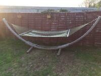 Amazonas garden hammock solid wood great summer addition
