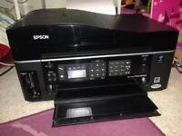 Epson wifi Bx610fw printer very good condition with new set of ink and spare ink
