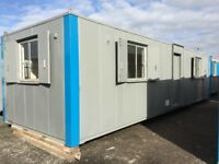 Variety of portable cabins & containers