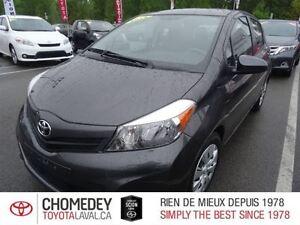 2014 Toyota Yaris LE 4 PORTES HATCHBACK AUTOMATIQUE CLIMATISEUR