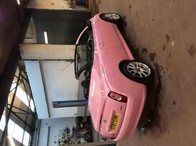 Nissan micra cc *breast cancer edition*