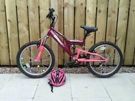 Girl's bike & helmet