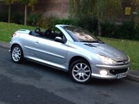 2005 Peugeot 206 CC SPORT 1.6 Manual Petrol - LOW MILEAGE - PX WELCOME