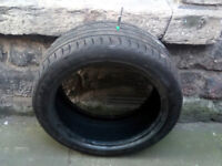 2 x 225 45 ZR 17 94 Tyres, 3mm Tread, pickup broughton street