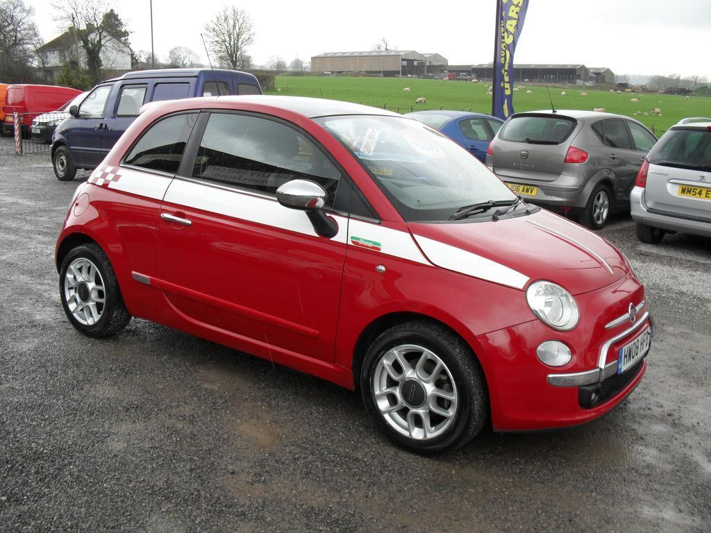 fiat 500 1 4 sport red 2008 in somerset gumtree. Black Bedroom Furniture Sets. Home Design Ideas