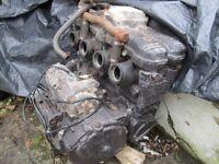 SUZUKI GSXR750 WN/WP ENGINE FOR SPARES