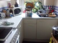 Old kitchen units and oven - free to whoever can pick them up
