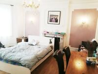 1 fully furnished large bedroom in a big flat , Finchley Road,London,NW3,zone 2