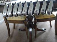 Genuine Callaway Big Bertha Irons. In very good condition. Original Calaway grips .
