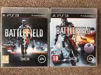 PS3 games - Battlefield
