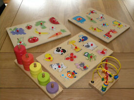 A selection of Childrens puzzles