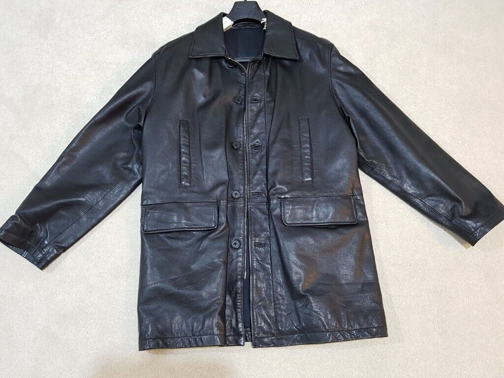 42e9f4c32 Yves Saint Laurent men leather jacket – almost new   in Newcastle, Tyne and  Wear   Gumtree