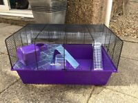 Hamster cage and accessories only 5 weeks old