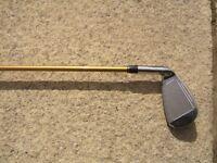 Benross 6 iron, cavity back, senior flex shaft.