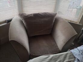 FOR SALE Armchair/ sofa. Super comfy and hardly used!