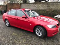 Red BMW 3-Series 1.8d