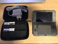 Nintendo 3Ds XL black plus eu charger and 4games