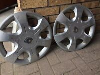 original renault traffic wheel trims 16''