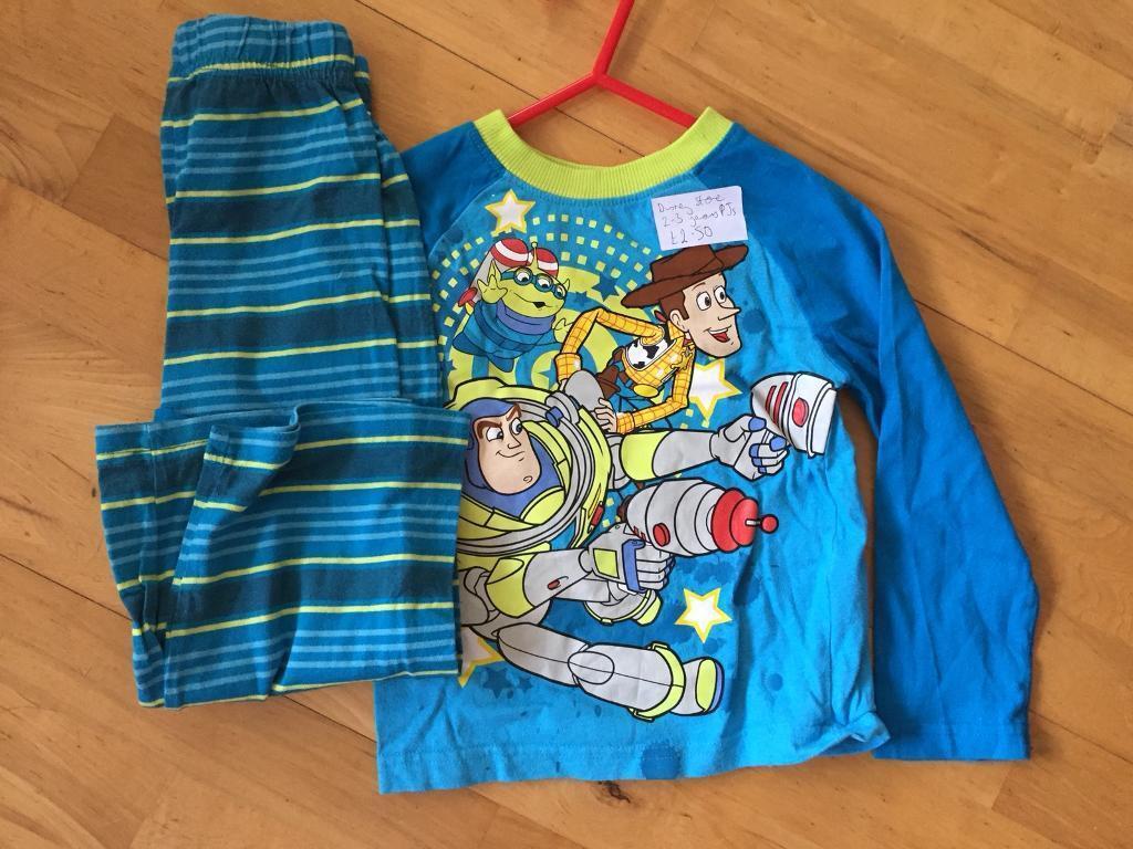 f62809b7ca Disney Store Toy Story boys pyjamas 2-3 years