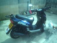 125cc low mileage scooter very good condition