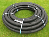 36m coil of 60mm perforated drainage pipe