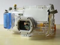Canon WP-DC40 waterproof / underwater case with strap (fits PowerShot S60, S70). V Good condition.