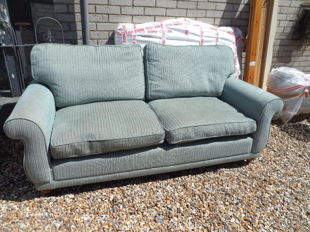 duck egg blue sofas immaculate dfs duck egg blue fabric sofa set in bles scottish thesofa. Black Bedroom Furniture Sets. Home Design Ideas