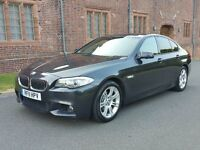 2011 BMW 520D M SPORT 185 BHP SINGAPORE METALLIC HIGH SPEC - GREY RARE COLOUR COMBO TOBACCO INTERIOR