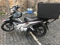 Honda Wave 110, Helmet, BLuetooth and Chain