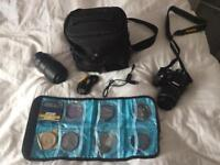 Nikon D3200 DSLR With 18-55mm lens, Nikon 55-300mm lens and more