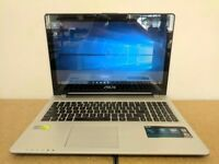 ASUS LAPTOP TOUCH SCREEN INTEL CORE I5 2TB HDD 8GB RAM