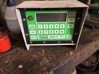 Keenan silage feeder control box