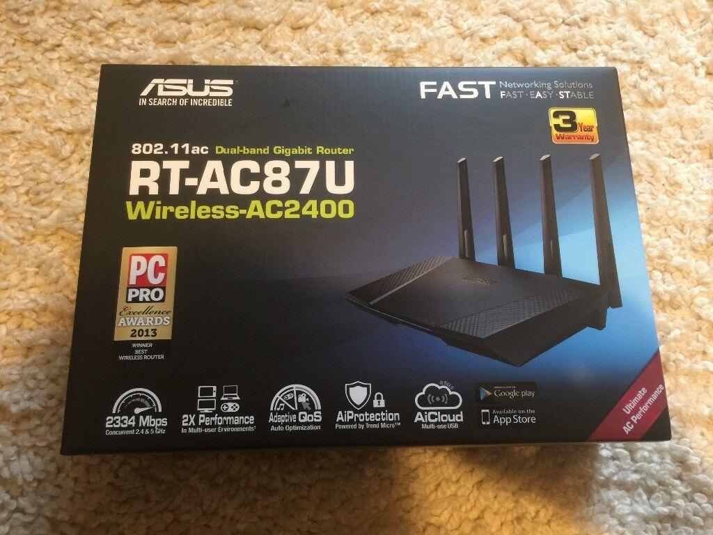 ASUS RT-AC87U Wireless Router | in Kidderminster, Worcestershire | Gumtree
