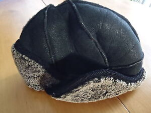 READY FOR WINTER? Man's MAGILL Sheepskin Hat North Shore Greater Vancouver Area image 1