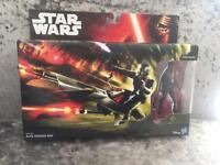 Star Wars vehicles and figure sets x 2 brand new in box