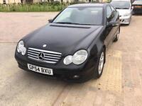 Mercedes C220 CDI Sport Coupe 2.2L Diesel (150BHP) 2005 - £1495 ONO
