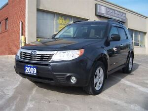 2009 Subaru Forester 2.5 AWD Touring Panno Roof