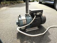 INDUSTRIAL GRUNDFOS ELECTRIC PUMP 240V 1PHASE