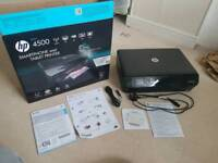 Boxed up - HP Envy 4500 wireless Printer with ink