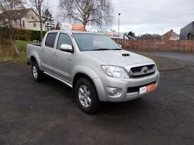 2011 TOYOTA HI-LUX INVINCIBLE D-4D 3.0 PICKUP 63,923 miles ++++2 OWNERS +++++