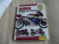 HAYNES MOTORCYCLE MANUAL