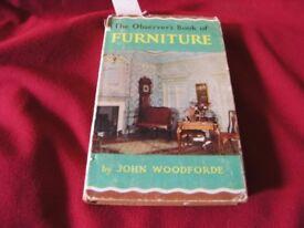 Vintage Book The Observer Book Of Furniture Pocket Book