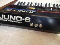 MIDI enabled Juno 6
