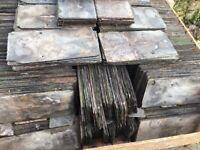 "Reclaimed Delabole roof slate 16x8"""