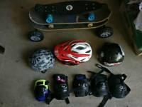 Skateboards and kit