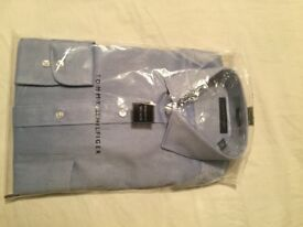 Brand New Tommy Hilfiger Mens Shirt SIZE 16 1/2 (34/35) regular fit