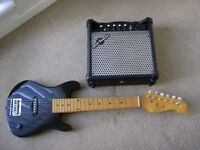 REAL Electric guitar. Half size, including amp. £60+ in shops. Very good condition
