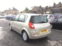 AUTOMATIC SUPER LOW MILEAGE RENAULT SCENIC 1.6 MOT MAY 18